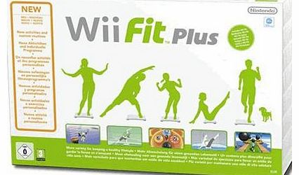 Wii Fit PLUS with Official Wii Fit Balance Board