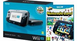 Wii U Console 32GB Premium Pack (Black)