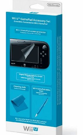 Wii U GamePad Accessory Set (Nintendo Wii U)
