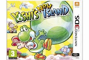 Yoshis New Island on Nintendo 3DS