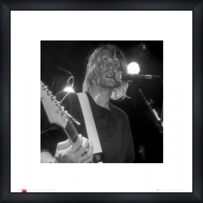 Kurt Cobain - Custom Framed Art Print Framed Music Prints and Poster