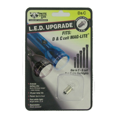 Maglite D-Cell Torch Upgrade Kit
