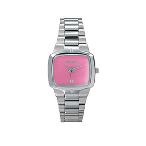 Ladies Nixon The Small Player Watch - A300 Pink