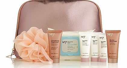 Skin and Body Care Mini Collection Bag