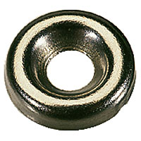 Nickel-Plated Screw Cups 6 Gauge Pack of 200