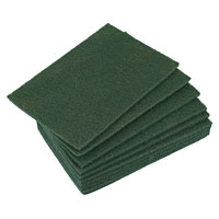 Sanding Pads Green 150 x 230mm Pack of 10
