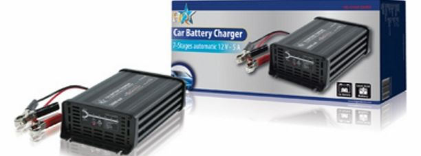 HQ 7-STAGE AUTOMATIC 12 V 5 A BATTERY CHARGER