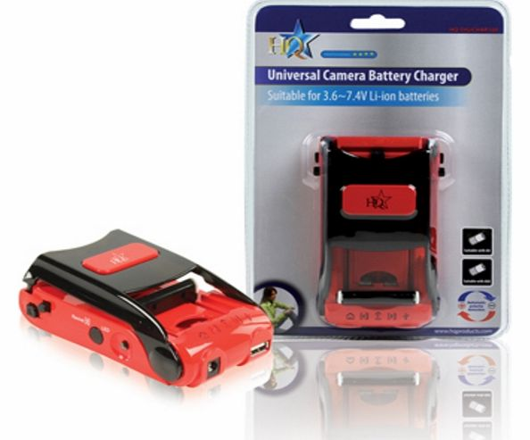 HQ UNIVERSAL DIGICAM/CAMCORDER BATTERY CHARGER