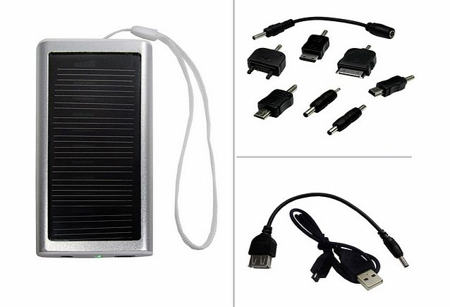NONAME Solar battery charger Nokia X3-02 Touch and Type