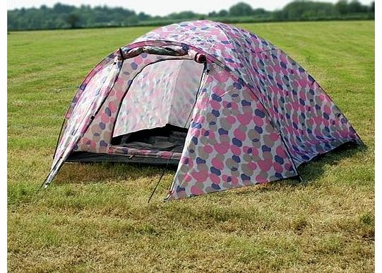 Camping Mars Waterproof 4 Man Dome Tent Turquoise