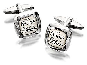 Best Man Cufflinks - 014555