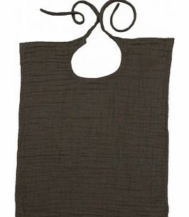 Square bib Taupe brown `One size