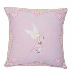 Fairy Appliqued Cushion