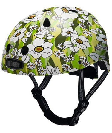 Flower Power Green Street Safety Cycle Helmet
