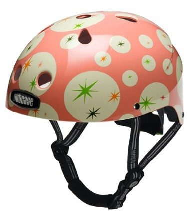Starbright Pink Street Safety Cycle Helmet