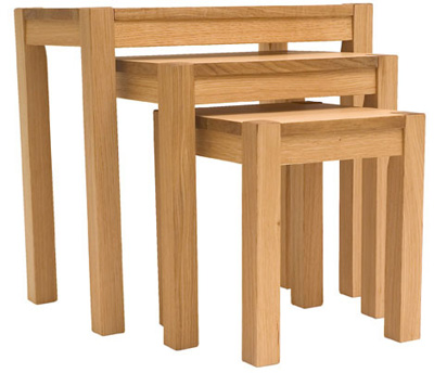 NEST OF 3 TABLES ALBA