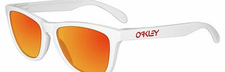 Frogskins Glasses - Polished White/ruby