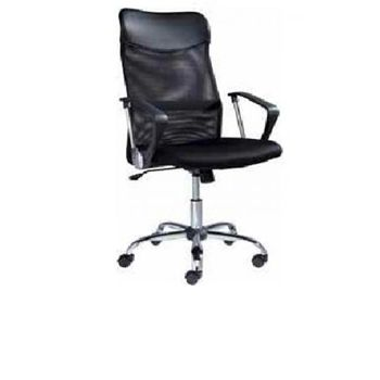 Office Chair in Black - Gas Adjustable