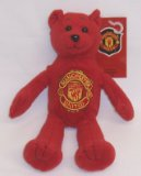 Manchester United FC Beanie Teddy Bear