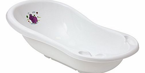 Hippo Baby Bath Tub White