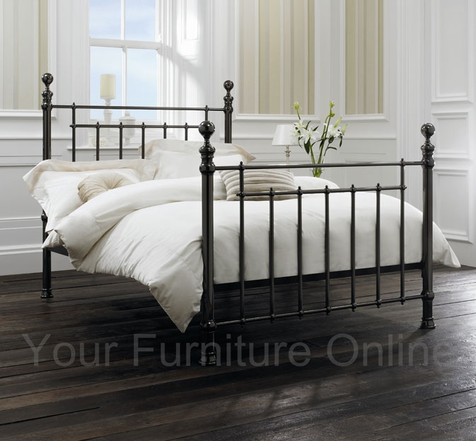 Nickel Bedstead - 135cm - Double and