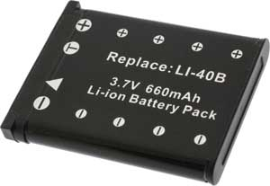 Compatible Digital Camera Battery - Li-40B / Li-42B - PL140B-354 (DB38)