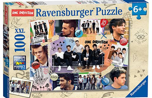 One Direction Ravensburger One Direction XXL Puzzle - 100 Pieces