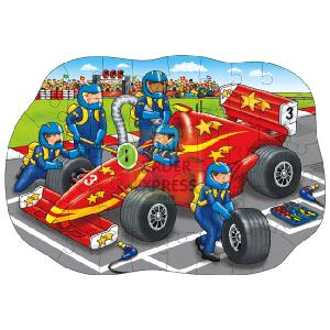 Big Racing Car 45 Piece Jigsaw Puzzle