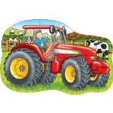 Big Tractor 25 Piece Jigsaw Floor Puzzle