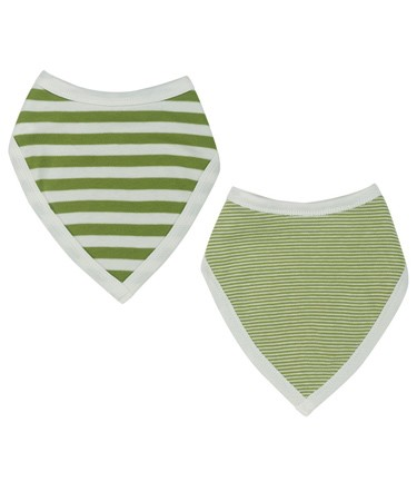 Green Reversible Bandanna Bib