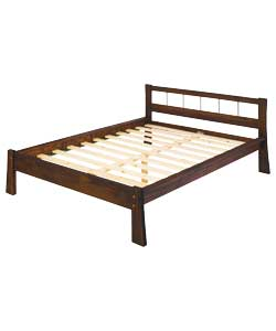 Osaka Double Bed Frame - Pine