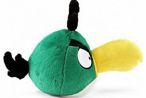 Angry Birds Green Toucan Boomerang 8 Inch Soft Toys