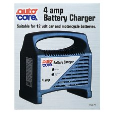 Auto Care Battery Charger 4 Amp