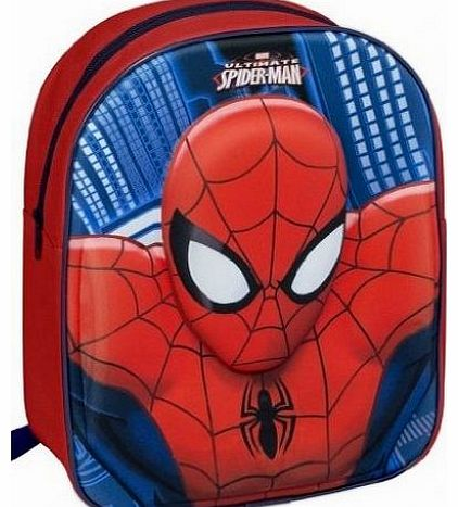 Character Marval Ultimate Spiderman Eva Junior 3D Backpack