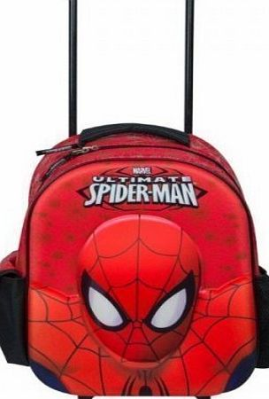 Marval Ultimate Spiderman Deluxe Wheeled Bag Character