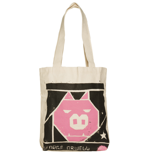 George Orwell Animal Farm Canvas Tote Bag from