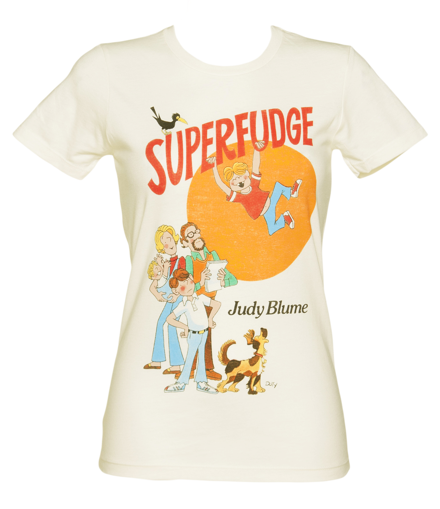 Ladies Ecru Superfudge By Judy Blume Book Cover