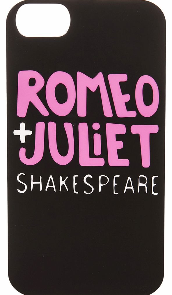 Romeo + Juliet Shakespeare iPhone 5 Cover from
