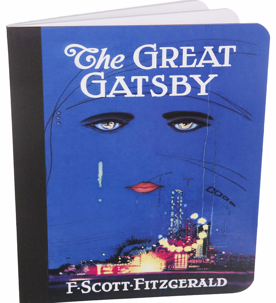 The Great Gatsby Book Cover Design Journal from