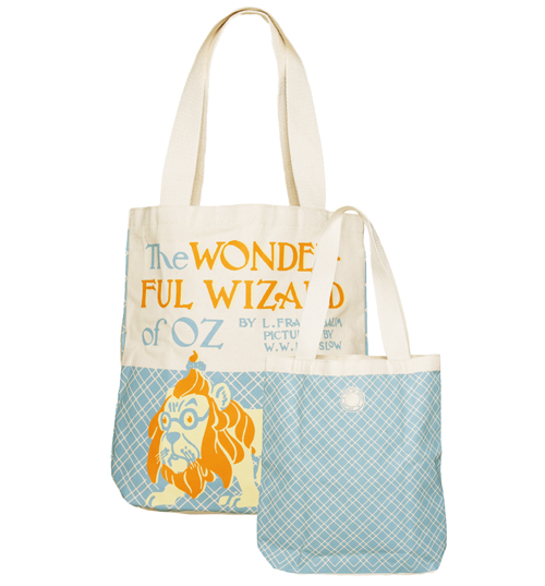 The Wizard Of Oz Vintage Cover Print Canvas Tote