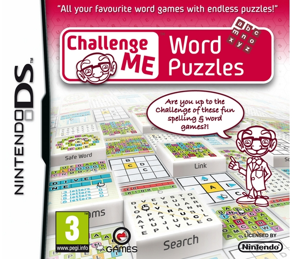 Challenge Me Word Puzzles NDS
