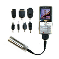 Charge Tube - Portable Mobile Phone iPod Charger