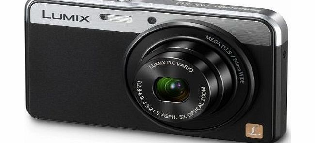 DMC-XS3EB-K Compact Digital Camera - Black (14.1MP, 5x Optical Zoom, 24mm Ultra Wide-Angle LUMIX Lens)