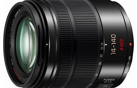 H-FS14140E-K 14-140mm F3.5-5.6 ASPH Compact and Stylish High Zoom Digital Interchangeable Lens