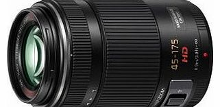 H-PS45175E-K Lumix G X VARIO 45-175mm F4.0-5.6 ASPH. Micro Four Thirds Interchangeable Lens