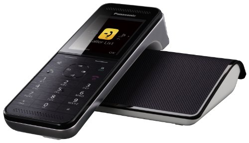 KX-PRW120 Cordless Phone with Answering Machine ( DECT,Hands Free Functionality, SMS Function, Low Radiation )