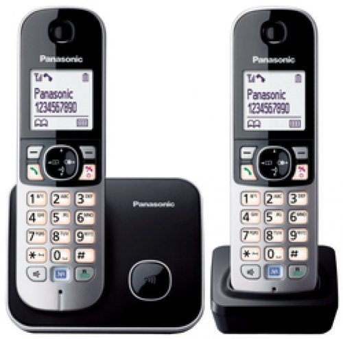 KX-TG 6812 Cordless Phone ( DECT,Hands Free Functionality, Low Radiation )