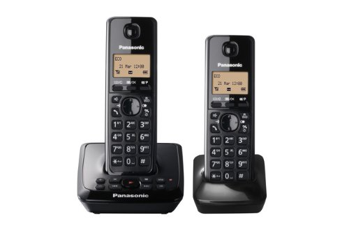 KX-TG2722EB Twin DECT Cordless Telephone Set with Answer Machine
