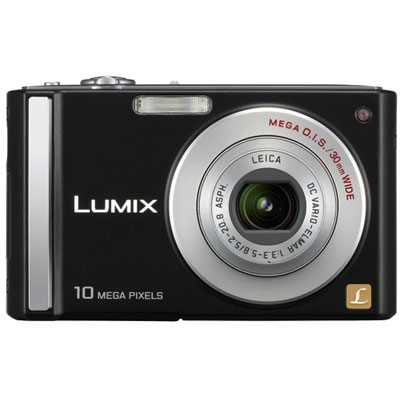 Lumix DMC-FS20 Black Compact Camera