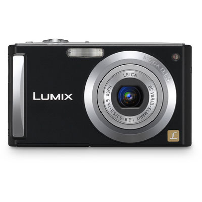Lumix DMC-FS3 Black Compact Camera